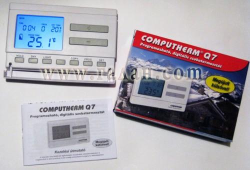 Программатор computherm q7 rf установка, скачать инструкцию.